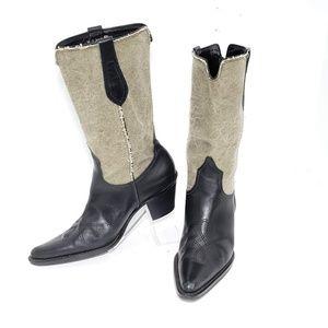 Franco Sarto Western Cowboy Boots Size 6M